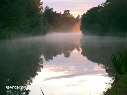 kanalen i dimma skarpåsen
