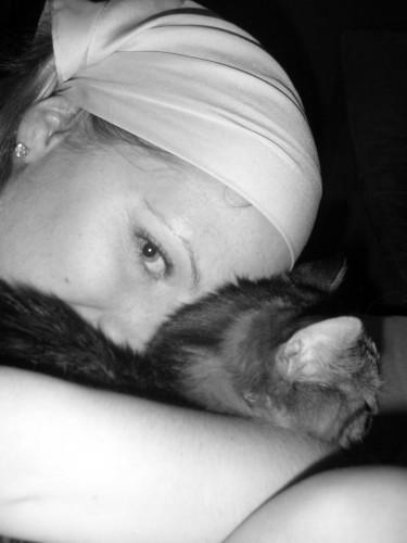 Jag och katt