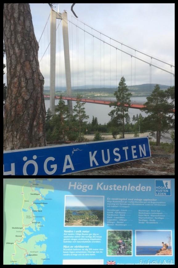 Höga Kusten Bron Höga Kustenleden Drömmar