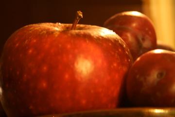 En annan ljuvlig smaksättare är äpple!