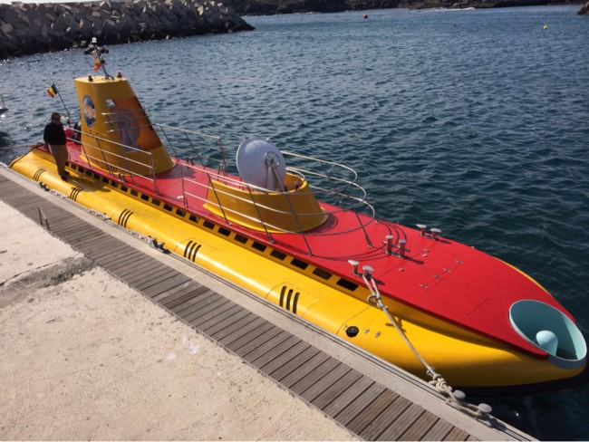 Submarine Safaris Ubåt utflykt San Miguel