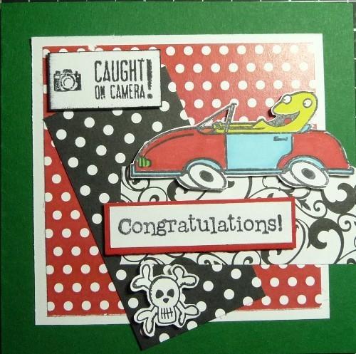 congratulations - körkort