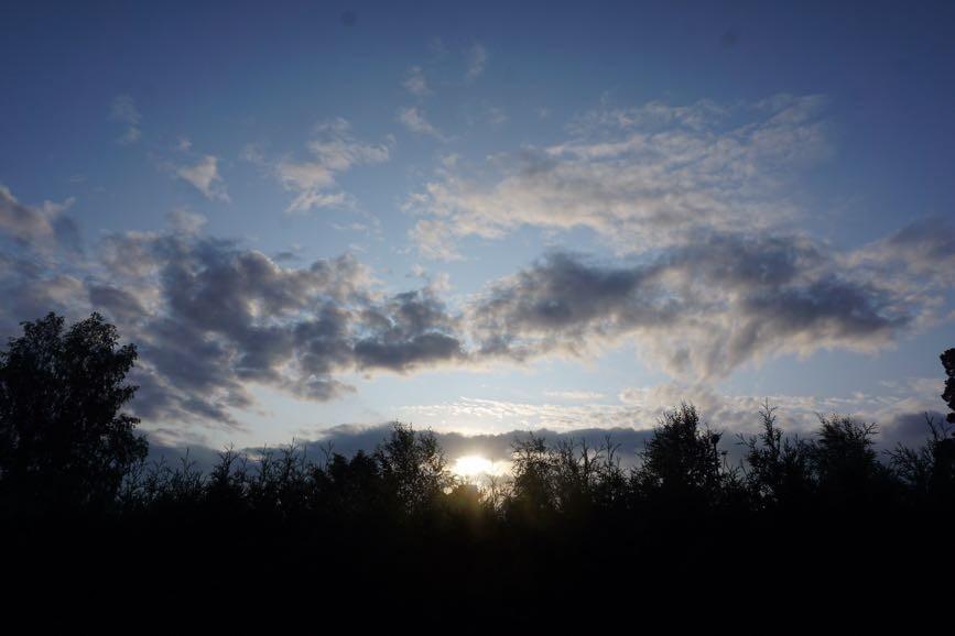 Soluppgången