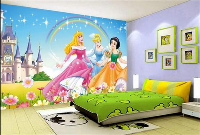 Barnrumstapeter fototapet prinsessor tapet barnr um tjejtapet flicktapet