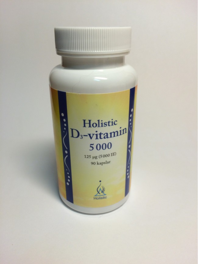 Holistic vitamin D3 5000ie