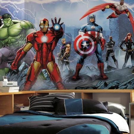 Tapet pojkrum marvel tapet pojktapet ironman avengers