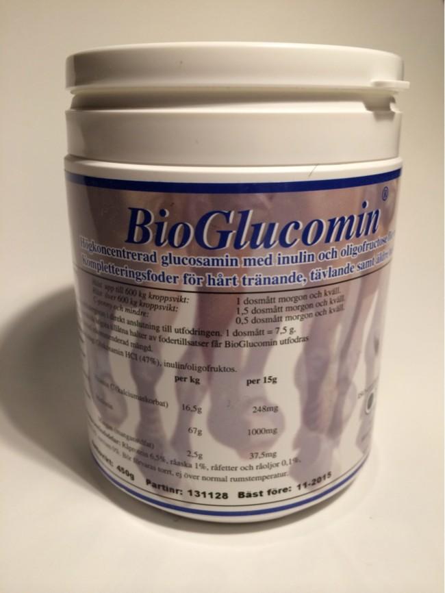 BioGlucomin Hästmedicin Glucosamin mot artros och spondylos