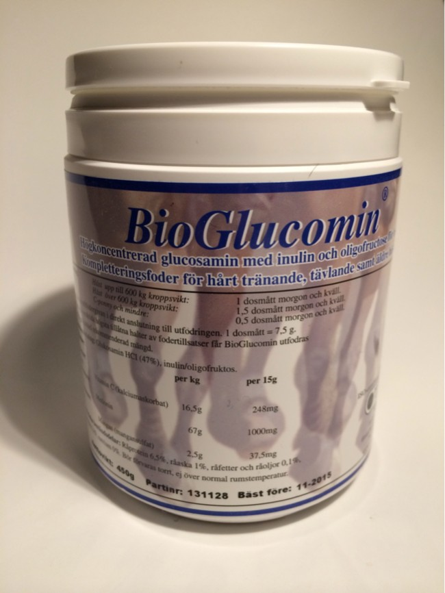 Glukosamin mot atros, spondylos mm