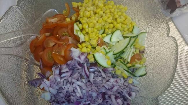 Kycklingsallad med smak av basilika & citron