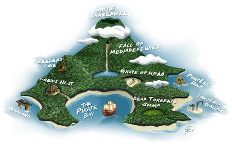 Pure bild av Piratbukten