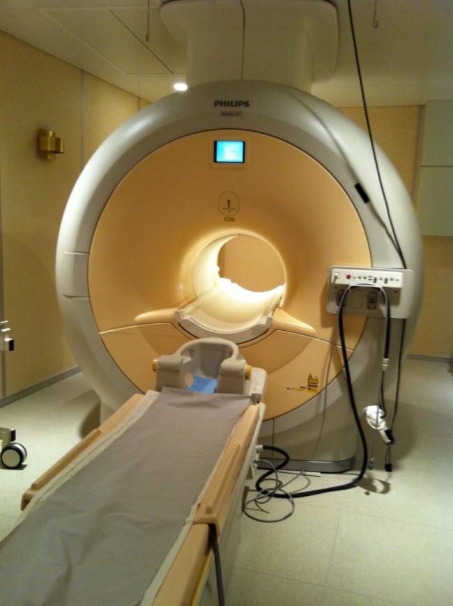 Magnetkamera MR Karlskoga lasarett