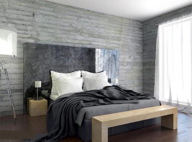 Billig betongtapet fototapet betongtapeter sovrum