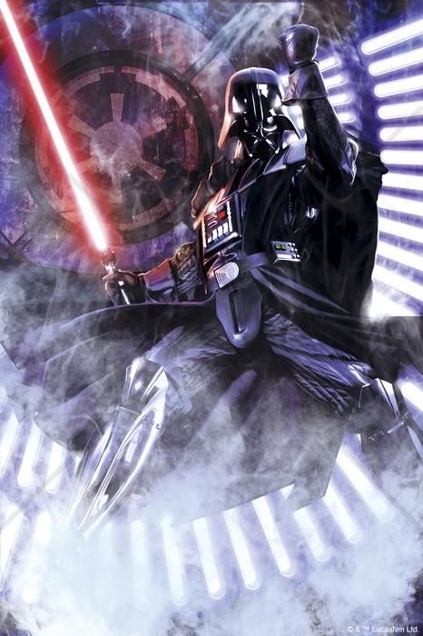 Star Wars tapet Darth Vader barntapet fondtapet barnrum