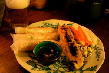 Do Chua passar fint till färska vårrullar, men särskilt rättikan är god att använda till sushirullar också.