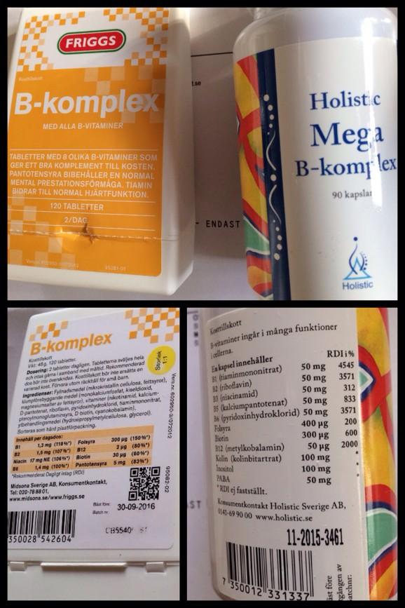 B-komplex Vitamin B