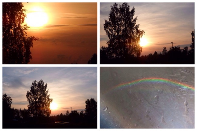 Soluppgång 6 juli 2014 Smärtlindring på flera sätt