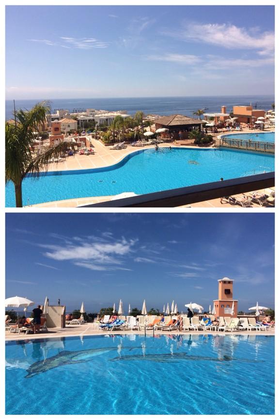 Delfinpoolen Costa Los Gigantes Resort Teneriffa