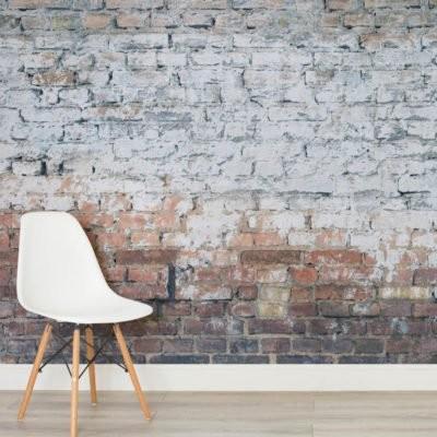 Tegeltapet grå tegelvägg tapet tegelsten mur