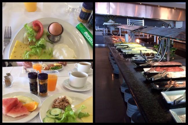 Frukostbuffé Costa Los Gigantes