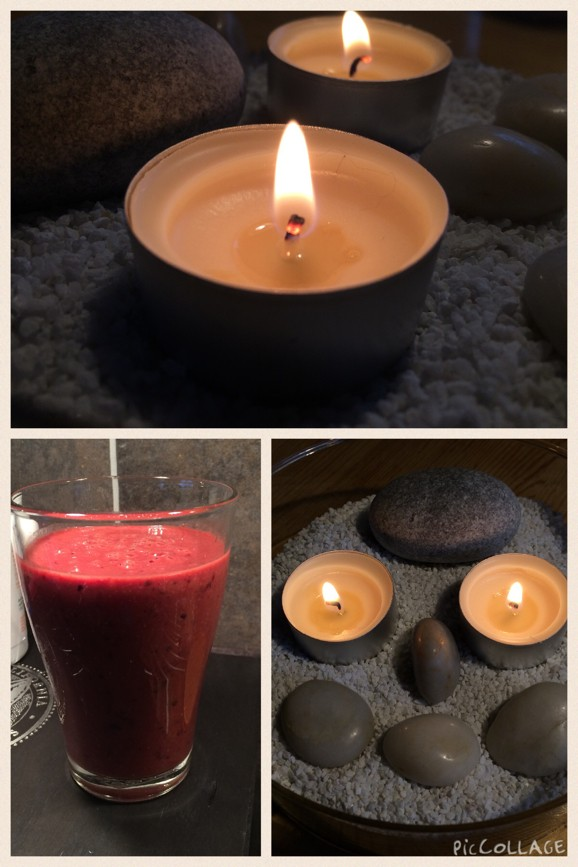 Morgon Smoothie Mys i mörka November