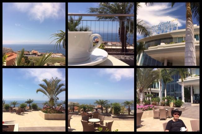 Förmiddagskaffe Costa Los Gigantes