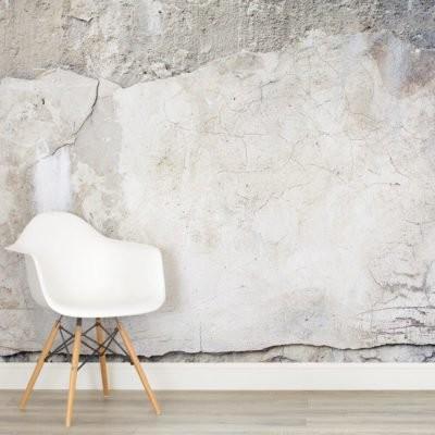 Betongtapeter betongvägg fototapet ljus grå fondvägg