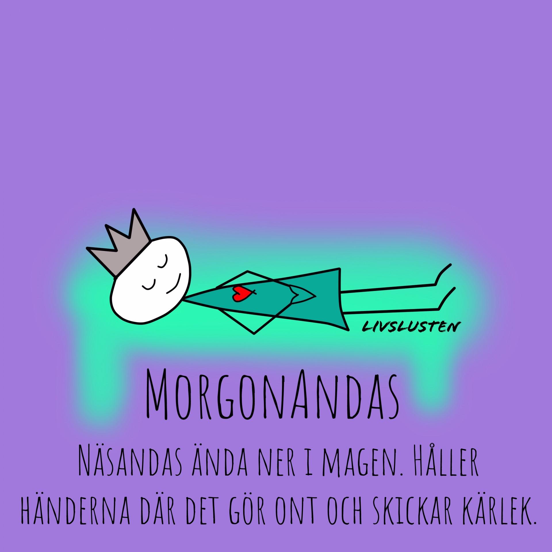 Livslusten Morgonandas Healing