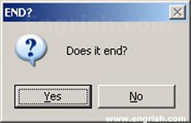 Slutet är nära?