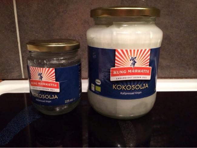 Kung Markatta Kokosolja, virgin, kallpressad och ekologisk