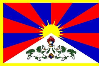 Tibets flagga