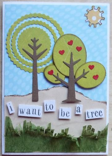 i want 2 b a tree