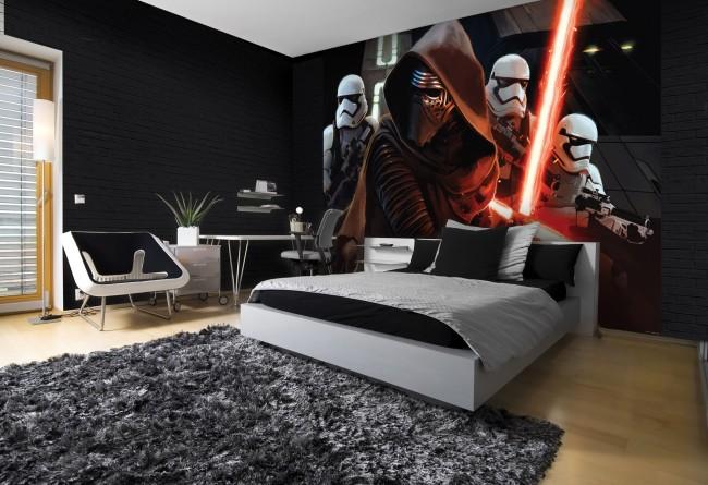 star wars tapet barntapet i sovrum