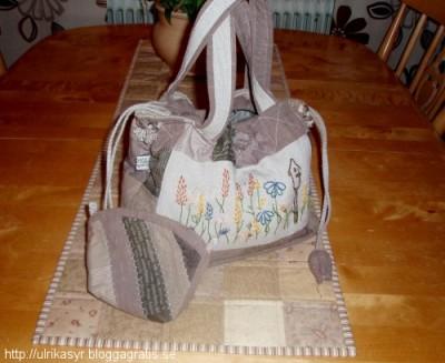 Japanska väskan med liten necce