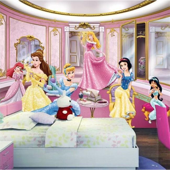 Tjej tapet prinsessor disney tapet fototapet tjejrum