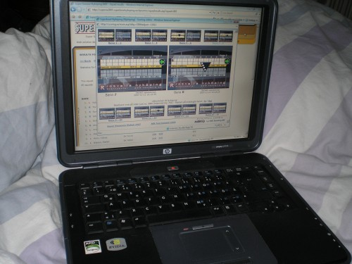 Scoring online