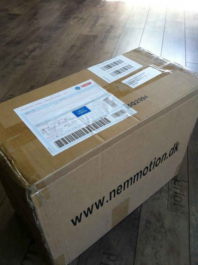 paket från Nemmotion