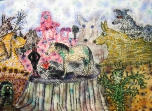 hundmassivet av roy De Forest