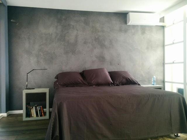 Billig betongtapet grå sovrumstapet betongvägg fondtapet betongtapeter
