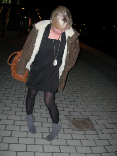 Mariells första modebloggsbild