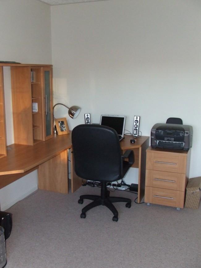 tråkig kontor före efter