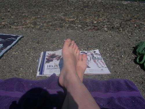 Jeans-och-ballerina-solbränna