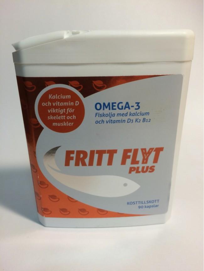 Omega 3 Fritt Flyt Omega3