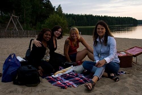 Elina, Anna-Karin, Lisa & Jennie