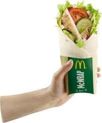 Mc Wrap grillad kyckling