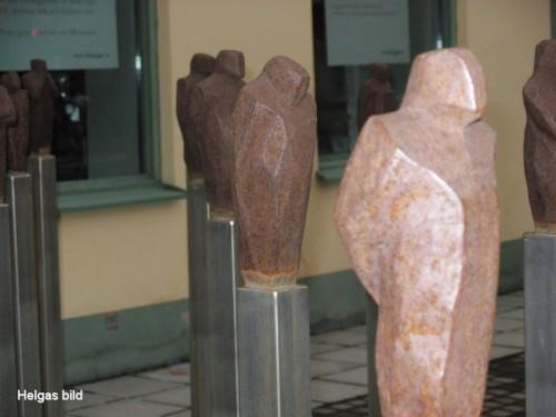 Konst intill Väderkvarnsgatan i Uppsala...