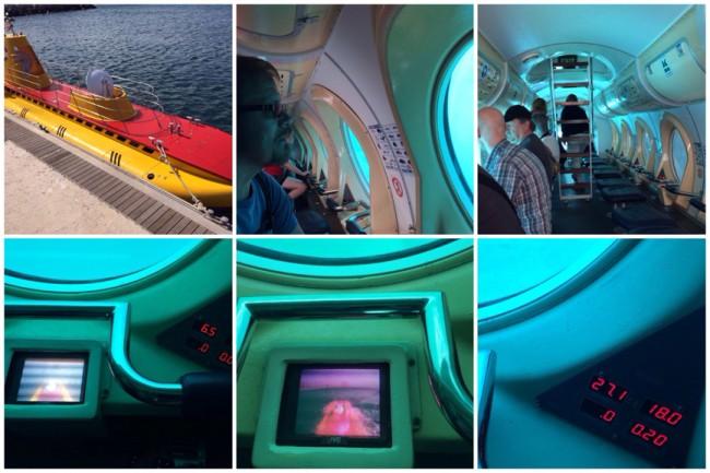 Submarine Safaris Ubåt utflykt San Miguel Tenerfiffa Atlanten