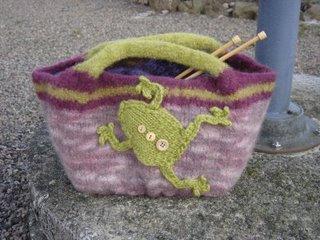 Frisky Frog - tovad väska
