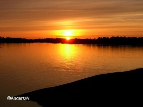 solnedgång missjö