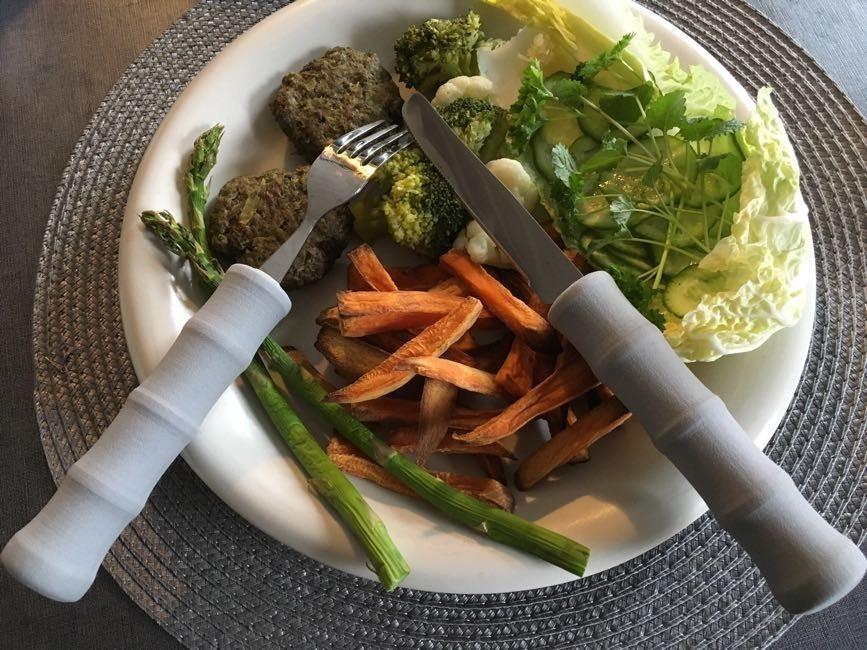 Köttfärs- & Broccolibiffar