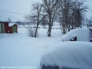 Lite snö